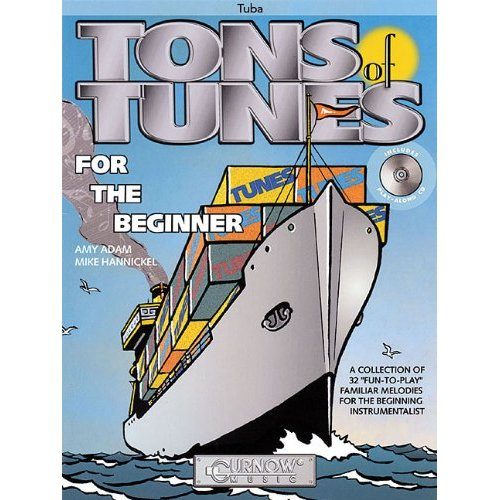 TONS OF TUNES FOR THE BEGINNER TUBA +CD