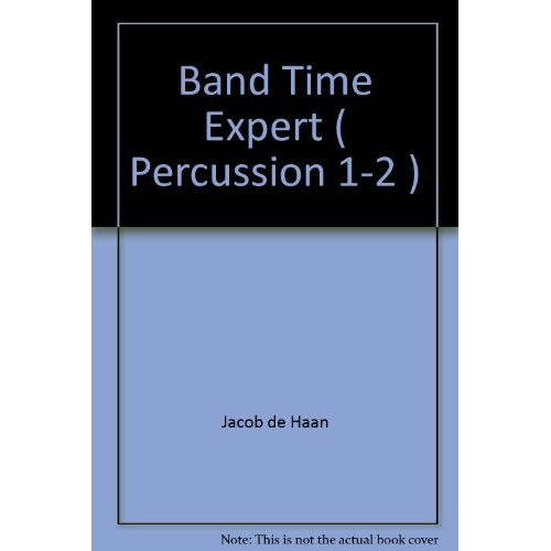 BAND TIME EXPERT ( PERCUSSION 1-2 )  PERCUSSIONS