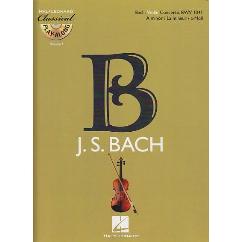 VIOLIN CONCERTO IN A MINOR, BWV 1041 VIOLON +CD