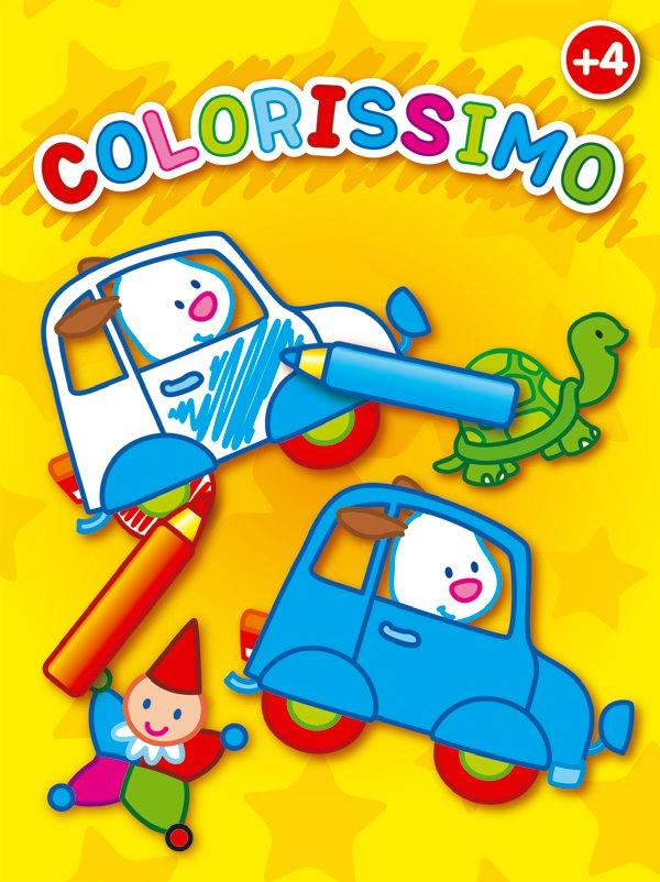 VOITURES COLORISSIMO +4