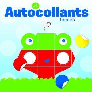 AUTOCOLLANTS FACILES 2-3 ANS