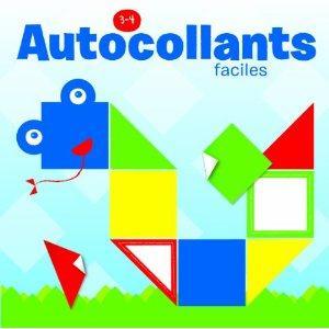 AUTOCOLLANTS FACILES 3-4 ANS