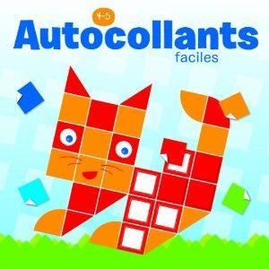 AUTOCOLLANTS FACILES 4-5 ANS