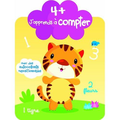 J'APPRENDS A COMPTER 4+