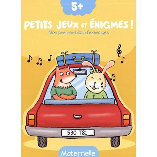 5+ PETITS JEUX ET ENIGMES