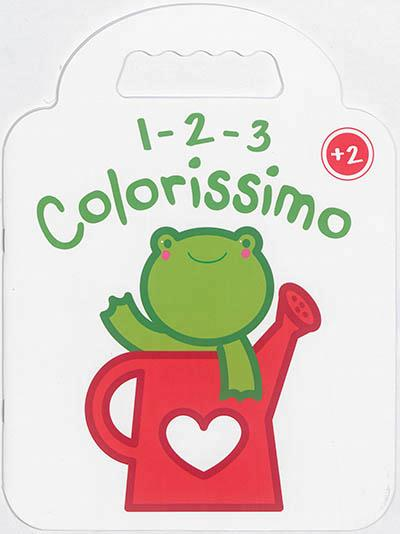 1 2 3 COLORISSIMO GRENOUILLE +2