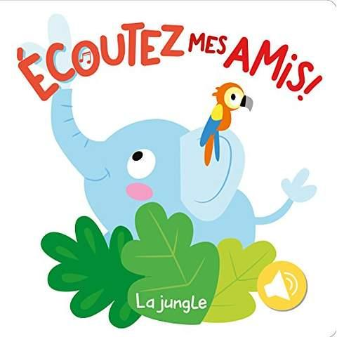 GRAND LIVRE SONORE - LA JUNGLE (MON)