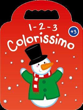 ROUGE BONHOMME DE NEIGE 3+ 1 2 3 COLORISSIMO