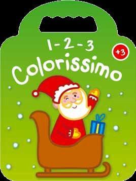 VERT PERE-NOEL 3+ 1 2 3 COLORISSIMO