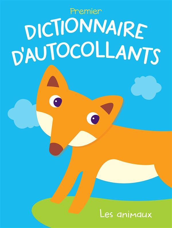 DICTIONNAIRE D'AUTOCOLLANTS LES ANIMAUX