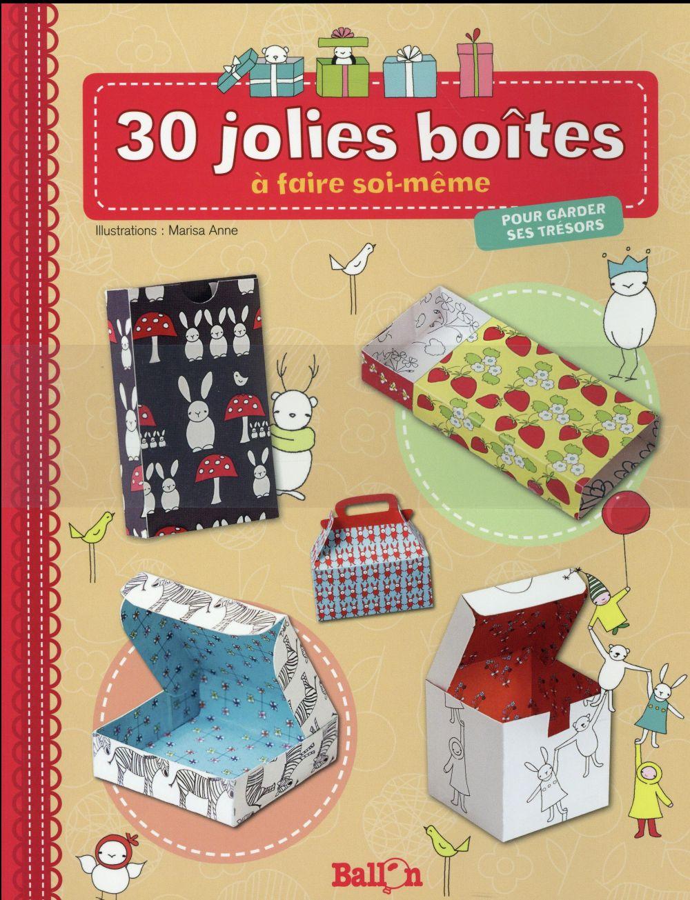 30 JOLIES BOITES POUR GARDER SES TRESORS