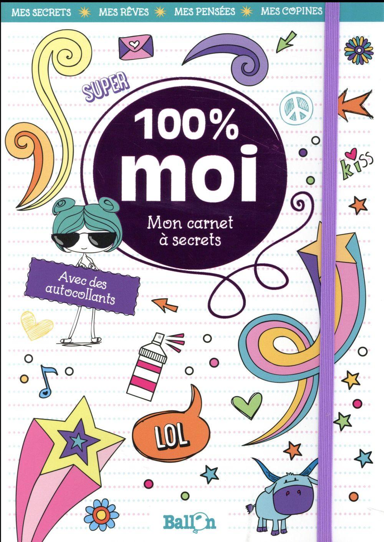 MON CARNET 100% MOI