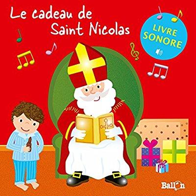 LIVRE SONORE - LE CADEAU DE SAINT NICOLAS