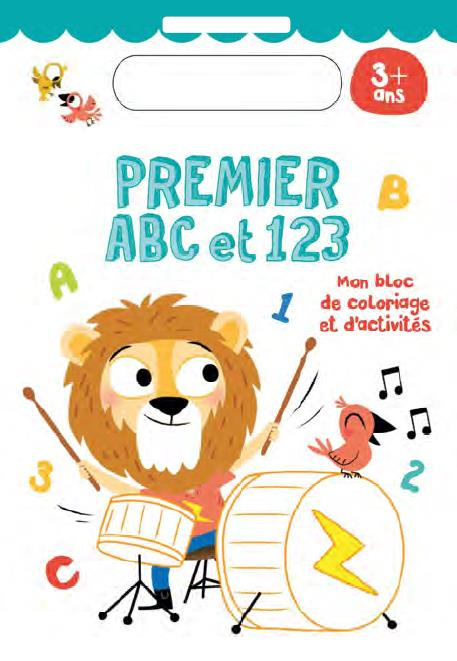 3+ PREMIER ABC ET 123 LION