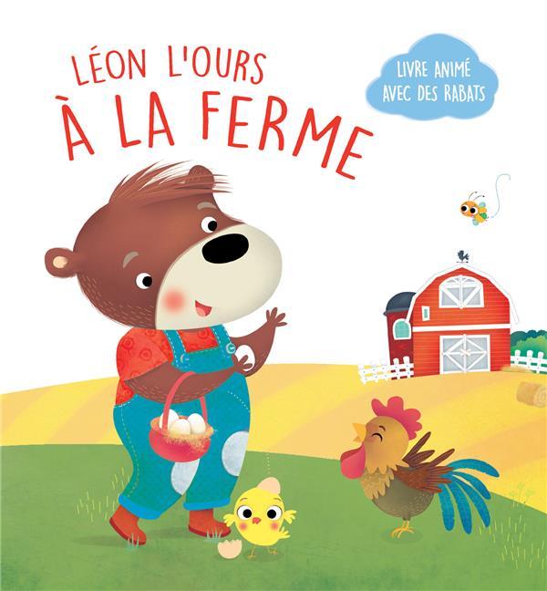 LEON L'OURS - A LA FERME