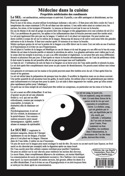 PLANCHE MEDECINE DANS LA CUISINE - PROPRIETES MEDICINALES DES CONDIMENTS - A4