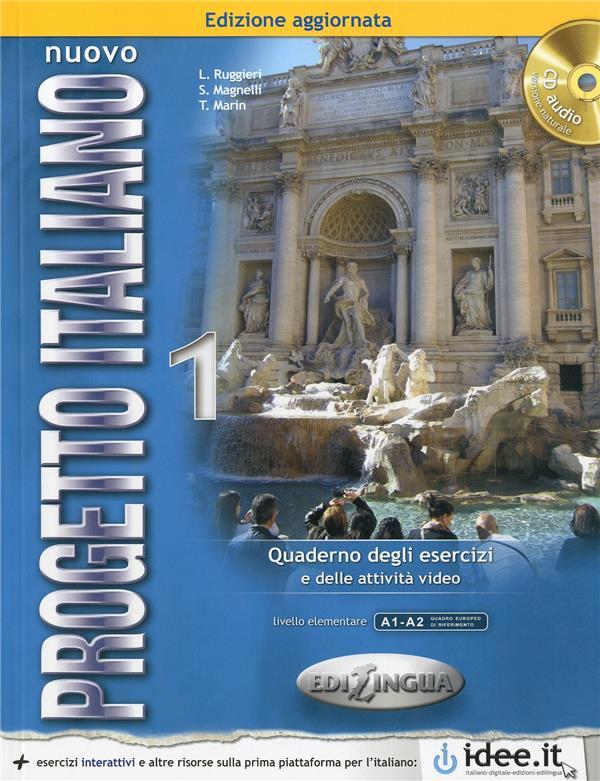 NUOVO PROGETTO ITALIANO / 1 (A1-A2) EXERCICES + CD