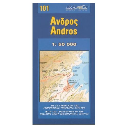 **ANDROS  1/50 000  (101)