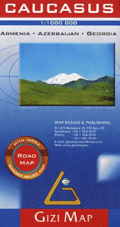 CAUCASUS  1/1M (ROAD MAP)