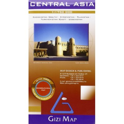 CENTRAL ASIA  1/1M75 (GEOGRAPHICAL)