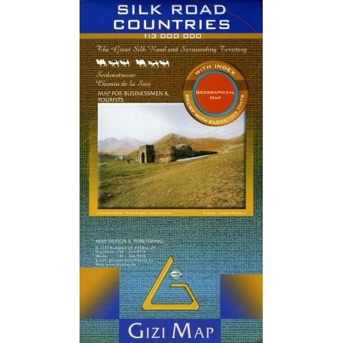 SILK ROAD COUNTRIES  1/3M (GEOGRAPHICAL)