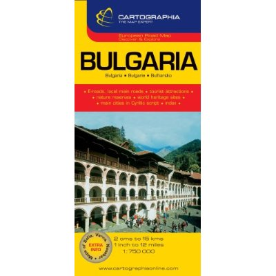 BULGARIA (CARTE CARTOG)