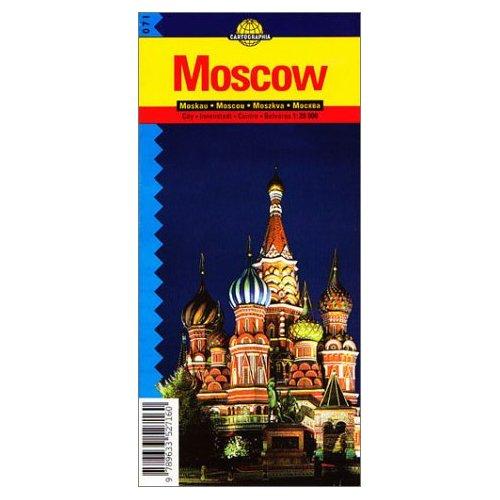 MOSCOU (PLAN CARTOGRAPHIA)