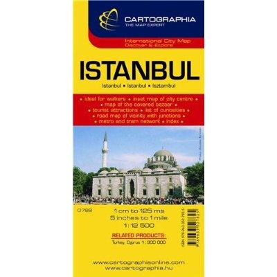ISTANBUL (PLAN CARTOGRAPHIA)