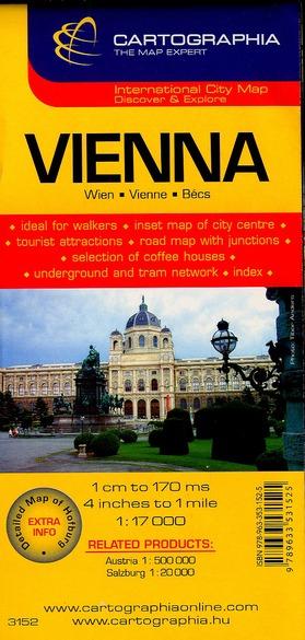 VIENNE (PLAN CARTOGRAPHIA)