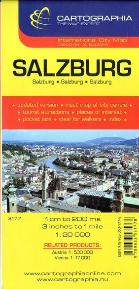 SALZBURG (PLAN CARTOGRAPHIA)