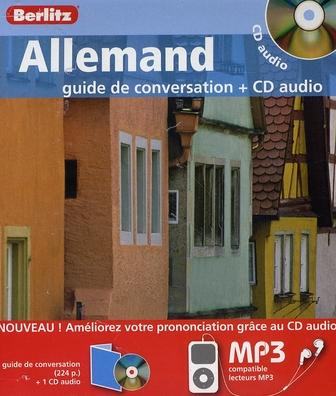 ALLEMAND - COFFRET GUIDE DE CONVERSATION + CD AUDIO