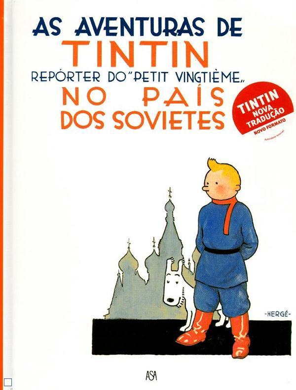 TINTIN AU PAYS DES SOVIETS (PORTUGAIS NE 2011)