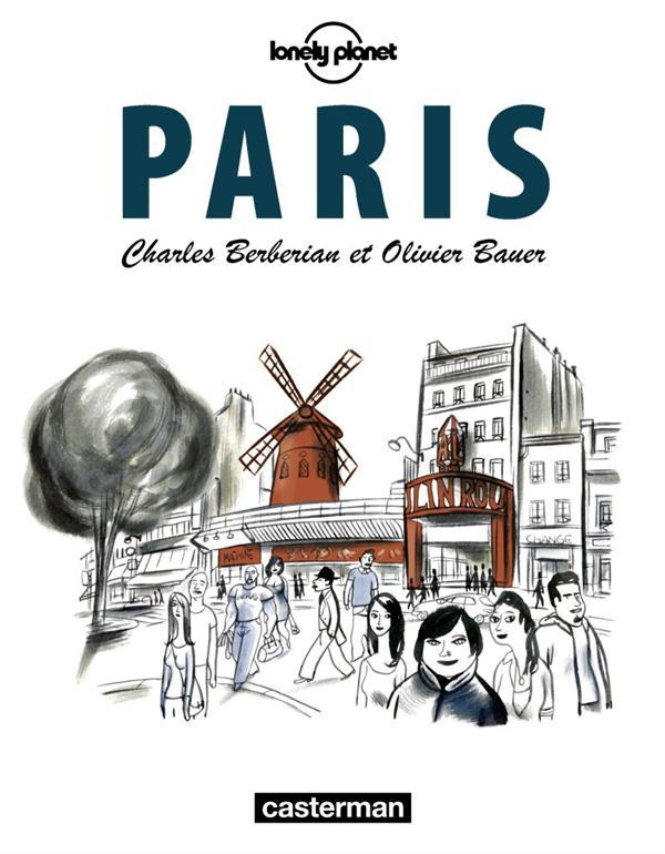 CITY GUIDE BD PARIS (LONELY PLANET)