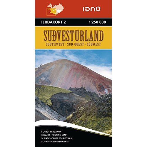 AED ISLANDE SUD-OUEST 2  1/250.000