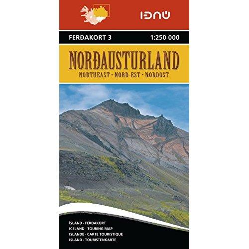AED ISLANDE NORD-EST 3  1/250.000