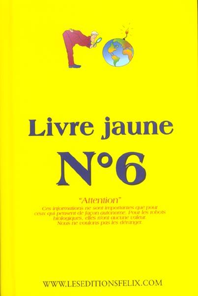 LIVRE JAUNE N 6