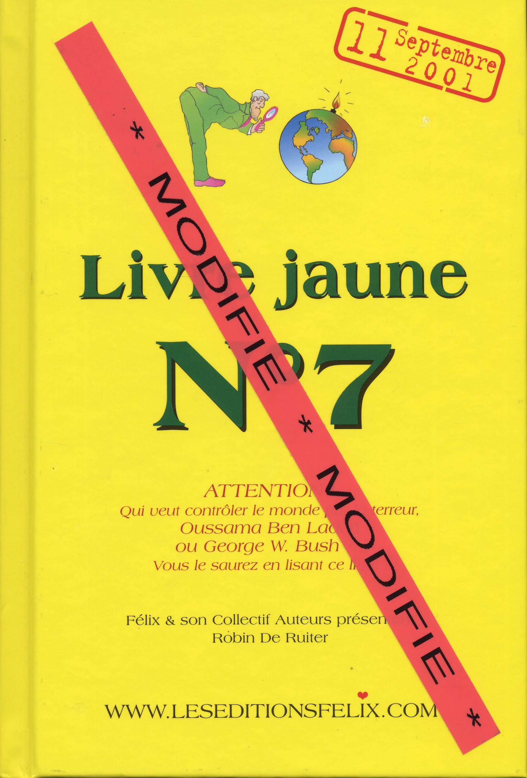 LIVRE JAUNE N 7 (MODIFIE)