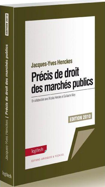 PRECIS DE DROIT DES MARCHES PUBLICS