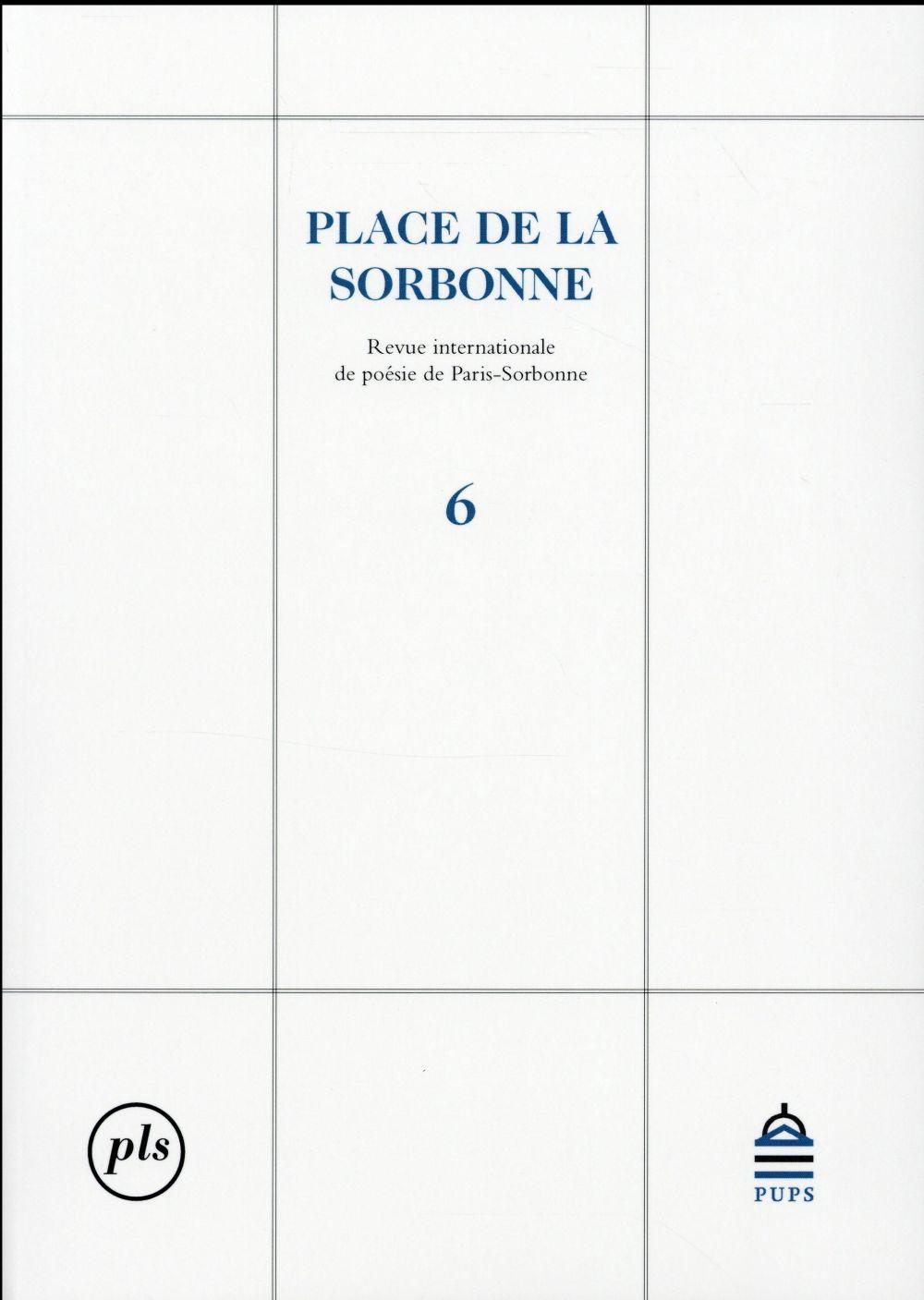 PLACE DE LA SORBONNE 6