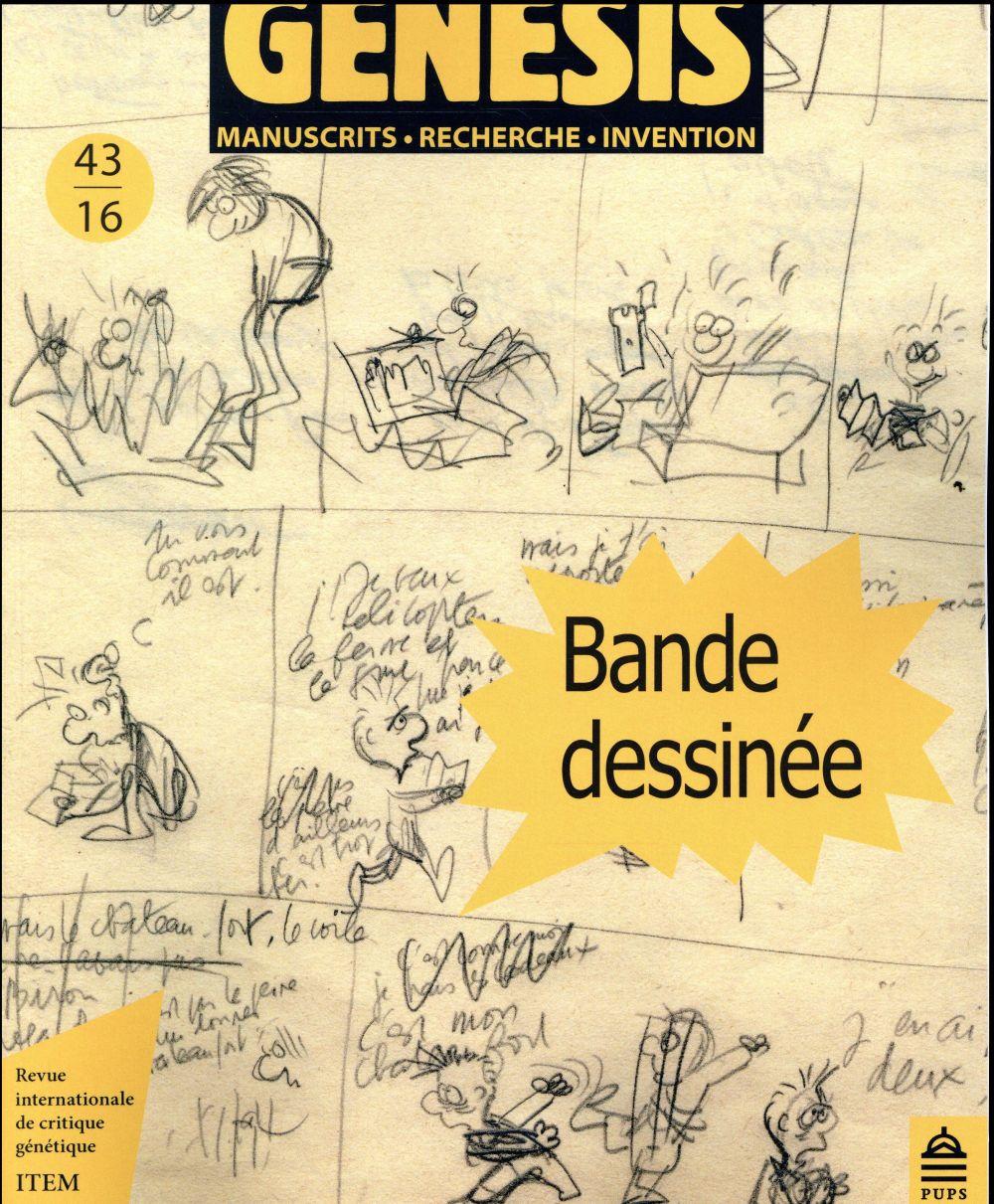 GENESIS 43 - BANDE DESSINEE