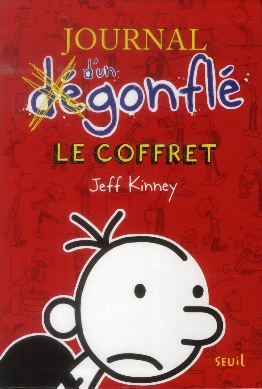 JOURNAL D'UN DEGONFLE, LE COFFRET. TOMES 1 A 5