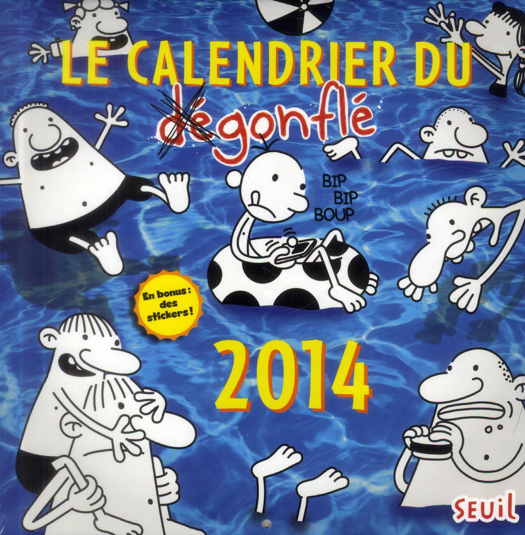 CALDENRIER DU DEGONFLE 2014