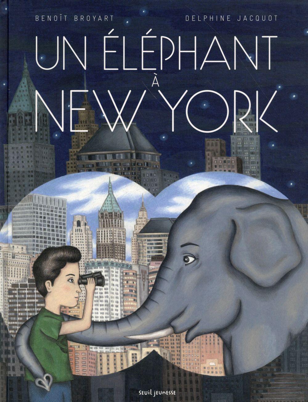 UN ELEPHANT A NEW YORK
