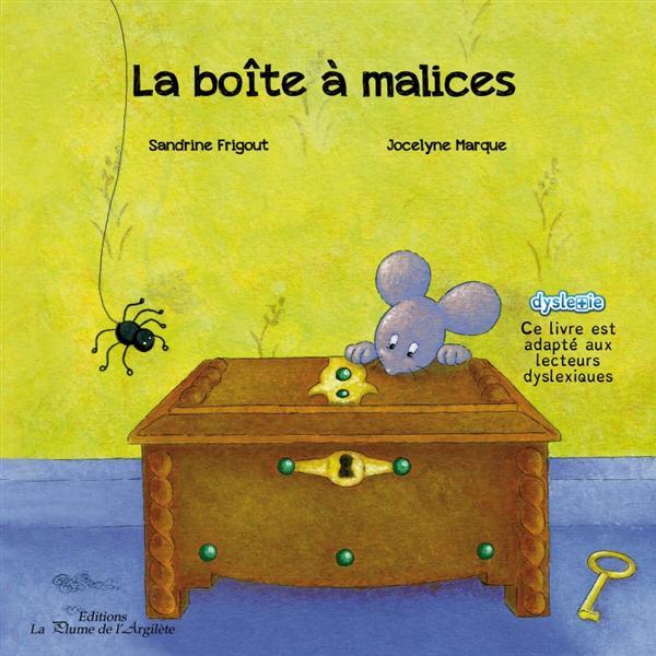 LA BOITE A MALICES - LIVRE + CD