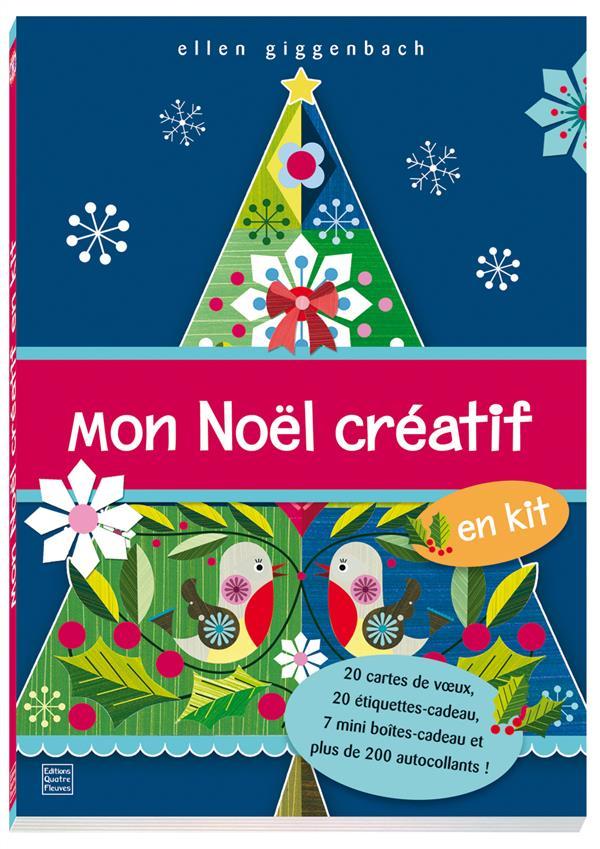 LIVRES DE NOEL - MON NOEL CREATIF EN KIT