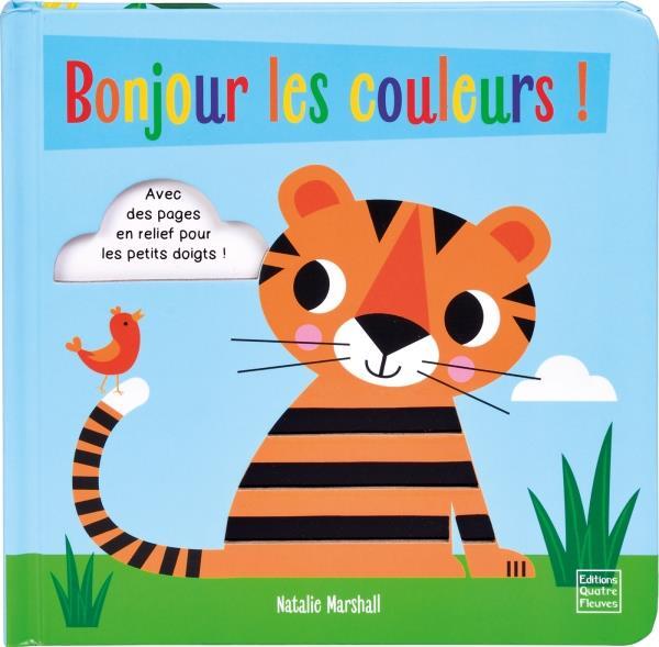 TOUT-CARTON DE NATALIE MARSHALL - BONJOUR LES COULEURS !