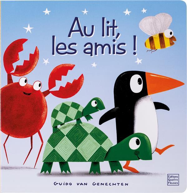 CARTONNE - AU LIT, LES AMIS !