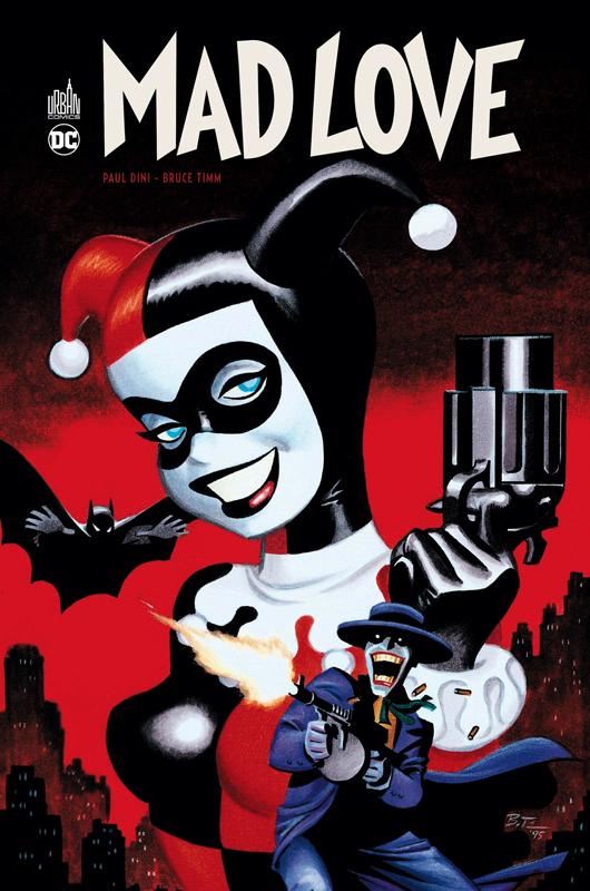 BATMAN MAD LOVE + DVD