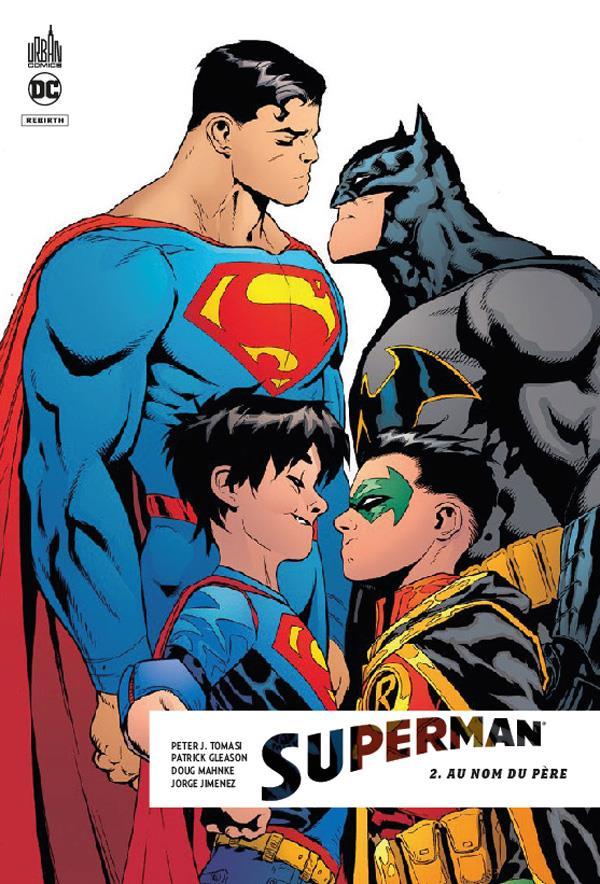 DC REBIRTH - SUPERMAN REBIRTH TOME 2