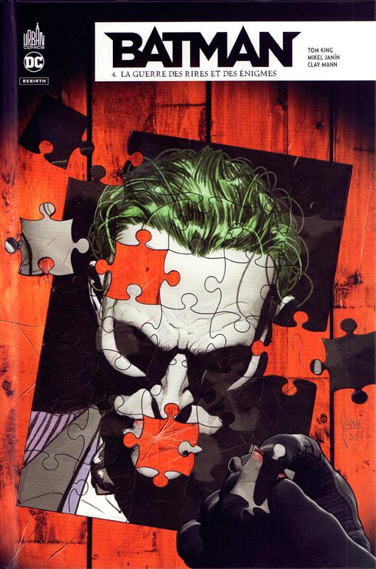 DC REBIRTH - BATMAN REBIRTH TOME 4